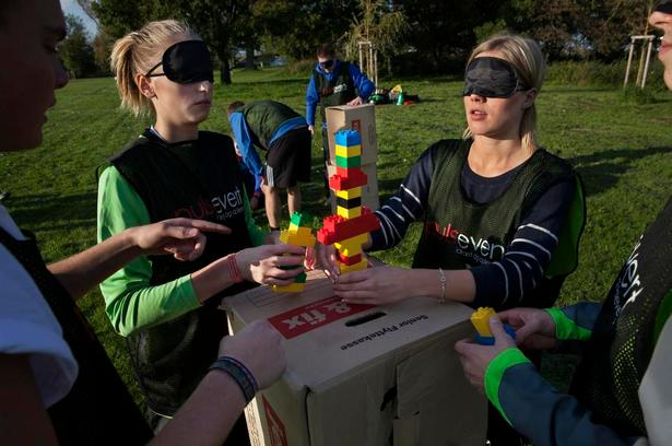 udendørs leg for voksne