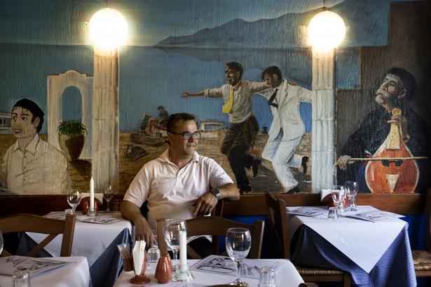Restaurant Kreta på Nørrebro.