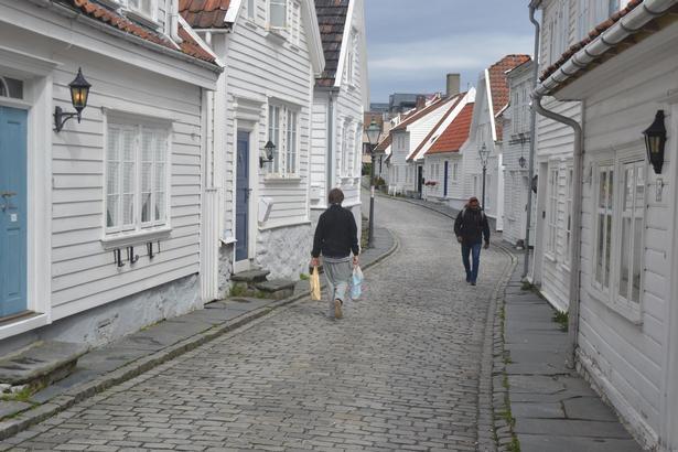 I det Gamle Stavanger findes Nordens ældste samling af træhuse.
